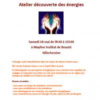 Affiche atelier decouverte des energies villecheneve 18 05 19