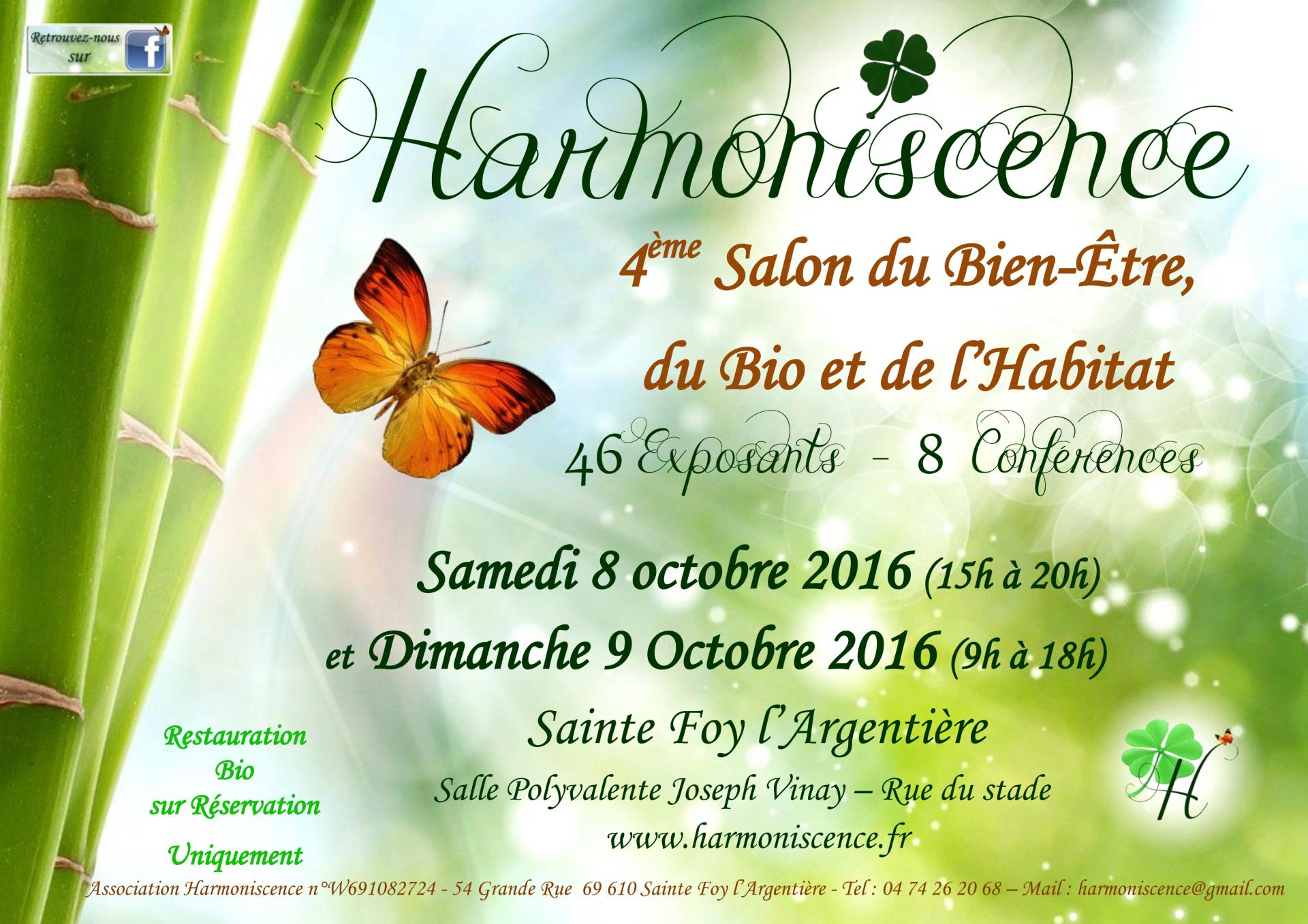 Affiche harmoniscence salon 2016