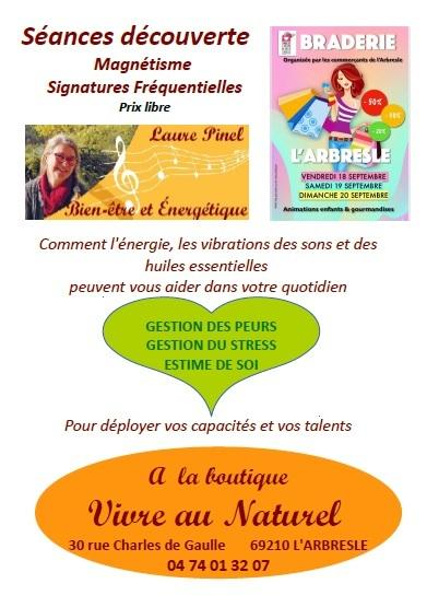 Affiche laure pinel braderie 2020