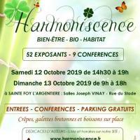Affiche salon harmoniscence 2019