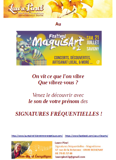 Affiche sf maquis art 2018