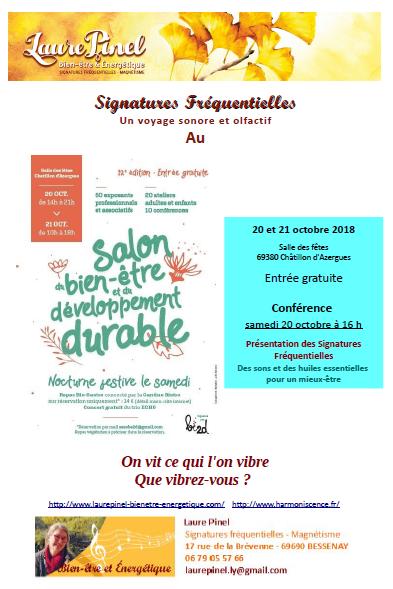 Affiche sf salon be2d 2018