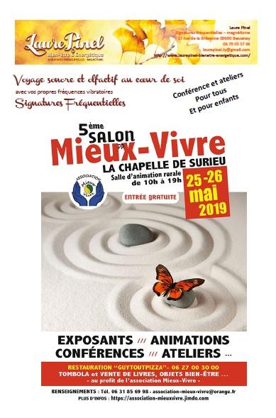 Affiche sf salon m vivre la chap de s 25 26 mai 2019