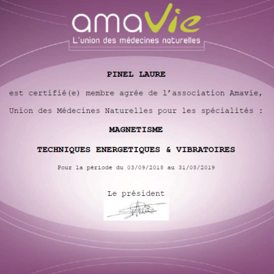 Label amavie 2018 2019