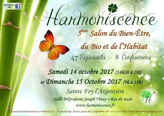 Salon harmoniscence 2017